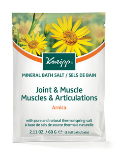 Joint & Muscle Mineral Bath Salt Sachet: Arnica