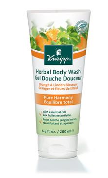 Pure Harmony Body Wash: Orange & Linden Blossom