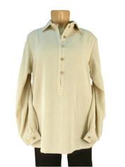 Fridaze Linen Pullover Shirt Natural