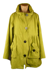 Rainy Breezy Fashion Jacket Lime