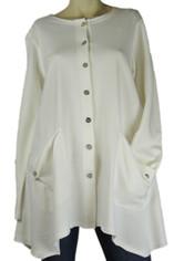 Color Me Cotton Alex Shirt/Jacket White