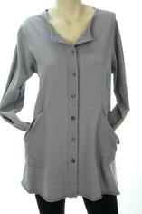 Color Me Cotton Alex Shirt/Jacket Grey