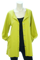 Color Me Cotton Alex Shirt/Jacket Citrus Green