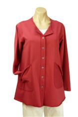 Color Me Cotton Alex Shirt/Jacket Red