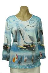 Sail Away Cotton Top