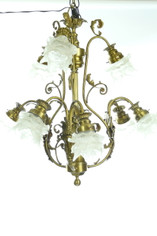 Exquisite Nine Lights French Style Chandelier