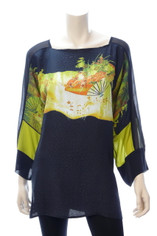 Asian Wind Silk Top by Dressori