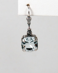 La Vie Parisienne Small Drop Earring Ice Blue Crystal