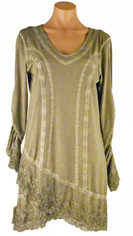 Gretty Gorgeous Tunic/Dress Mushroom