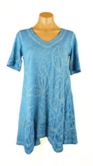 Gretty Caribe Blue Tunic