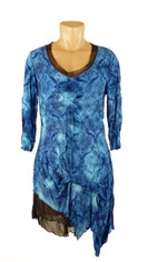 Pretty Pretty Papillion Royal Blue Tunic