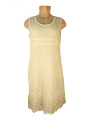 Gretty Dress Creamy Beige