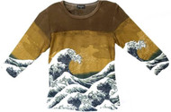 Hokusai Great Wave Art Image Top