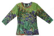 Van Gogh Iris Art Image Top