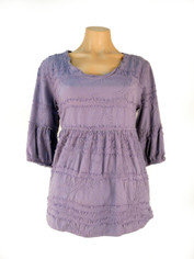 Cotton Sally Top in Light Grape by Tianello