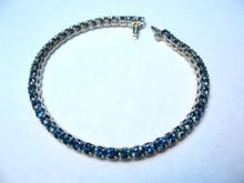 Montana Sapphire Tennis Line Bracelet