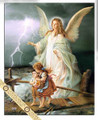 "POSTER ANGEL DE LA GUARDA 20"" x 27.5"""