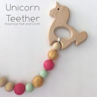 Standing Unicorn teethers