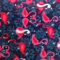 Flamingo print polyester felt