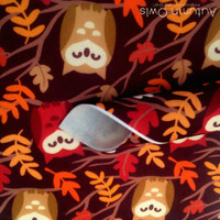 Autumn Owl Print - XL felt sheet