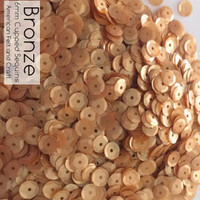 Bronze - 6mm Cupped Sequins