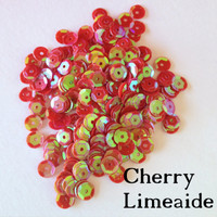 Cherry Limeaide - 6mm Cupped Sequins