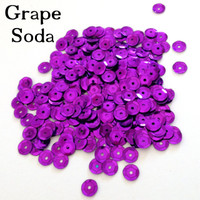 Grape Soda - 6mm Cupped Sequins
