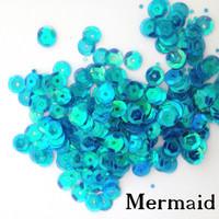 Mermaid  - 6mm Cupped Sequins