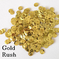 Gold Rush  - 6mm Cupped Sequins