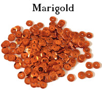 Marigold  - 6mm Cupped Sequins