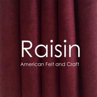 Raisin - Wool Blend Felt