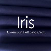 Iris - Wool Blend Felt