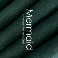 Mermaid - Wool Blend Felt
