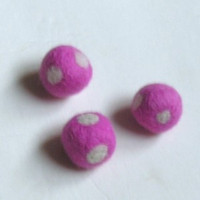 Pink Polka 2cm 3count