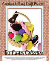 Easter Collection Pattern- Felt Food