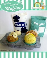 Sunday Morning Muffins- Felt food pattern