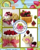 Felt Food - Macomb County Strawberry Festival PDF Pattern