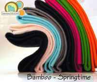 Bamboo Felt 8 pack SPRING COLORS