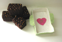Classic Brownies Felt Food Crafting Kit