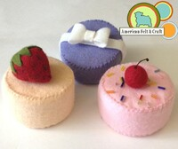 Foam Tea Cake / Pincushion Form