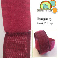 Hook and Loop - Burgundy