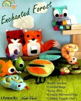 Enchanted Forest Felt PDF pattern