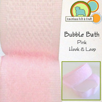 Hook and Loop - Bubble Bath Pink