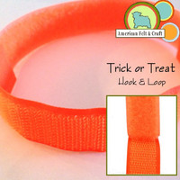 Hook and Loop - Trick or Treat Orange