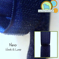 Hook and Loop - Navy