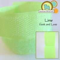 Hook and Loop - Lime