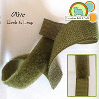 Hook and Loop - Olive