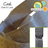 Hook and Loop - Coal
