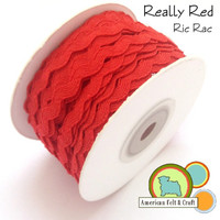 Really Red Ric Rac