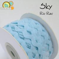 Sky Blue Ric Rac